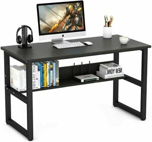 Computer Desk 110x50x74cm, LASUAVY Office Study Desk - RRP £89.99