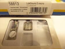 ESU 58813 - LokSound 5 micro Einzellitzen mit Lautsprecher,Neu-OVP