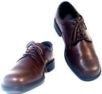ROCKPORT MARGIN Mens Size 8.5M Brown Oxford Leather Lace Up Dress Shoe APM2031C