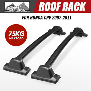 SAN HIMA Roof Rack Bars For Honda CRV 2007-2011 Cross Bar Black Baggage Rack SUV