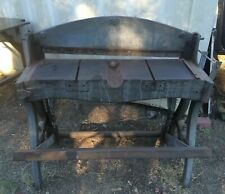 Peck Stow Amp Wilcox 36 Vintage Shear Cast Iron Antique Machine Legs Steam Punk