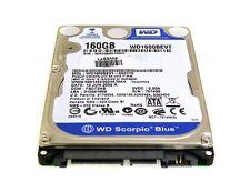 "Western Digital WD1600BEVT - 00ZCT0 160Gb 2.5"" Laptop Internal SATA Hard Drive"