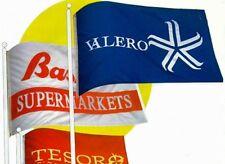 5 Bandiere Personalizzate Promozionali telo nautico 50x70 cm Grafica libera!