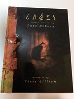 Cages - Graphic Novel by Dave McKean - 1st Edition; Kitchen Sink - Very Rare!