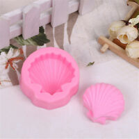 Fashion Big Sea Shell Shape 3D Silicone Fondant Cake Mold Tools Bakewares!