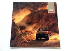 1992 Isuzu PIckup Truck 10-page DELUXE Sales Brochure - 4x4 4wd