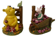 Vintage Disney WINNIE the POOH & PIGLET BOOKENDS (2000's) Michel & Company