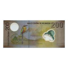 *jcr_m* NICARAGUA 200 CORDOBAS 2007 POLYMER P. 205B *UNCIRCULATED*