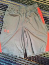 Under Armour Boys Athlethic Gray & Red Shorts YMD
