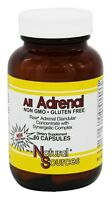 Natural Sources All Adrenal 60 Capsules Raw Adrenal Glandular Concentrate