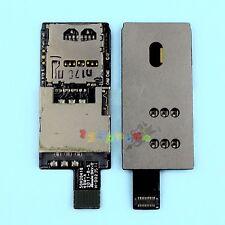 INNER SIM + SD SLOT HOLDER READER TRAY FLEX CABLE FOR HTC BLISS RHYME S510b G20