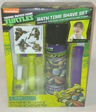 Teenage Mutant Ninja Turtles Bath Time Shave Kit 5 Piece Boys Play Toy Fun Set