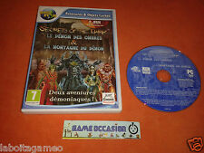 SECRET OF THE DARK LE DEMON DES OMBRES & ET LA MONTAGNE DU DEMON PC CD-ROM PAL