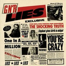 GUNS N ROSES CD - G N R LIES [EXPLICIT](1990) - NEW UNOPENED - ROCK METAL