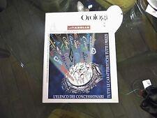 ANNUARIO DI OROLOGI LE MISURE DEL TEMPO 1998-1999 SOLO LE TABELLE