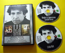 """2 DVDs """" BOB DYLAN EDITION  - MASKED AND ANONYMOUS + LITTLE FISH """" MIT EXTRAS"""