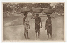 Fisher Women Sellers Bombay India 1910s postcard