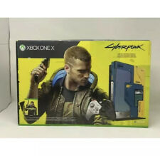 BRAND NEW Cyberpunk 2077 XBOX ONE X SYSTEM CONSOLE Collectors Edition Bundle