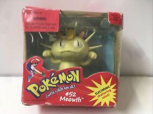 1998 Pokemon Interactive Chattering Voice #52 Meowth
