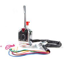 12V Universal Street Hot Rod Chrome Turn Signal Switch For Car Truck Dune Buggy