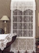 """Heritage lace Heirloom  60""""x 72"""" Panel - White."""