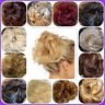 Messy Hair Scrunchie Easy Bun Wavy Curly Extension Piece Womens Girls
