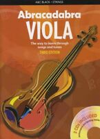 Abracadabra for Viola 3rd Edition Sheet Music Book with CDs Learn How To Play