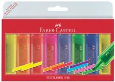 Surligneurs Faber Castell Textliner 1546- étui de 6 pièces
