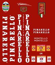 Pinarello montello frame decal set White