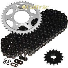 Black O-Ring Drive Chain & Sprockets Kit Fits HONDA CBR600F4i 2001-2006