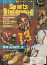 Todd Marinovich Signed Sports Illustrated Cover - USC Trojans Football