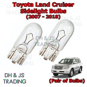 2 Stop//Tail Bulbs fit Toyota Land Cruiser 21//5w Capless Brake//Tailight//Wedge