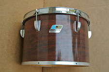 """70's/80's Ludwig USA 13"""" CONCERT TOM in MAHOGANY CORTEX for YOUR DRUM SET #C414"""