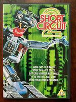 Short Circuit 2 DVD 1988 Johnny 5 Robot Famiglia Film Classico