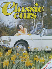 CLASSIC CARS MAGAZINE SUPPLEMENT PART 1 A-Z GUIDE TO 1960s & 1970s CARS