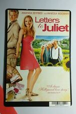 LETTERS TO JULIET SEYFRIED REDGRAVE ITALY MINI POSTER BACKER CARD (NOT a movie )
