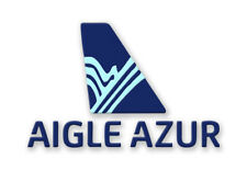 "Aigle Airlines Logo 3.25""x2.25"" Handmade Fridge Magnet (LM14136)"