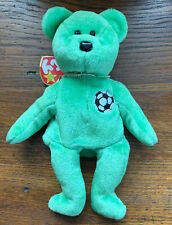 Ty Beanie Babies Kicks Soccer Ball 1998 Retired MINT Collectible Plush
