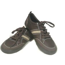 NWOT Boys size 4 Cherokee Brand Brown Casual Shoes