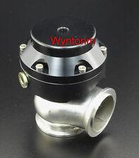 38MM WG 10 PSI External Turbo Stainless Steel V Band Wastegate Black