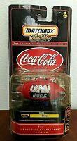 VINTAGE 1999 COCA COLA BRAND MATCHBOX COLLECTIBLES BLIMP NIB NOS COKE