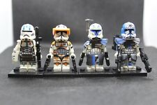 New Custom Star Wars Captain Rex And Commander Cody Minifigures + Echo and Jesse