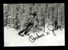 Christine von Grünigen Foto Original Signiert Skialpine + A 173498