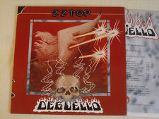 ZZ Top Deguello-LP WARNER RECORDS Germany 1979