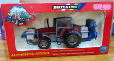 Britains Toys Massey Ferguson 3680 Tractor and Crop Sprayer Set Boxed 9607