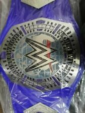 WWE Cruiserweight Championship Replica Title Belt Silver