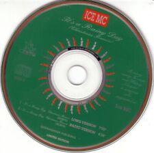 ICE MC - It's a rainy day (Christmas REMIX) 2TR CDS 1994 EURODANCE / Limited ed
