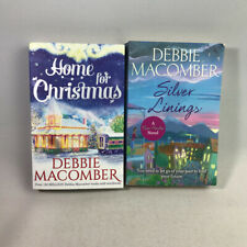 2 debbie Macomber Paperback Books - Home For Christmas & Silver Linings