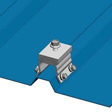 10 magebracket R панель трапецеидальный металлической крыши монтажные ребра скобки зажимы солнечная
