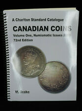 Canadian Coins Catalogue 72nd Edition Volume 1 Book Guide for CAD Coins